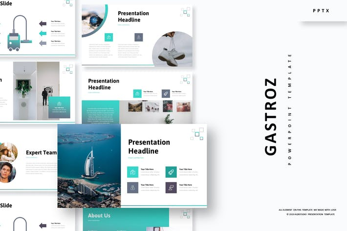 Cover Image For Gastroz - Powerpoint Template