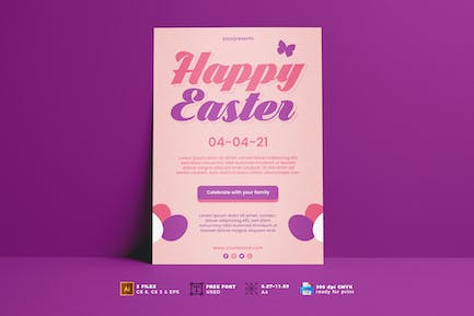 Easter Day Flyer Vol. 02