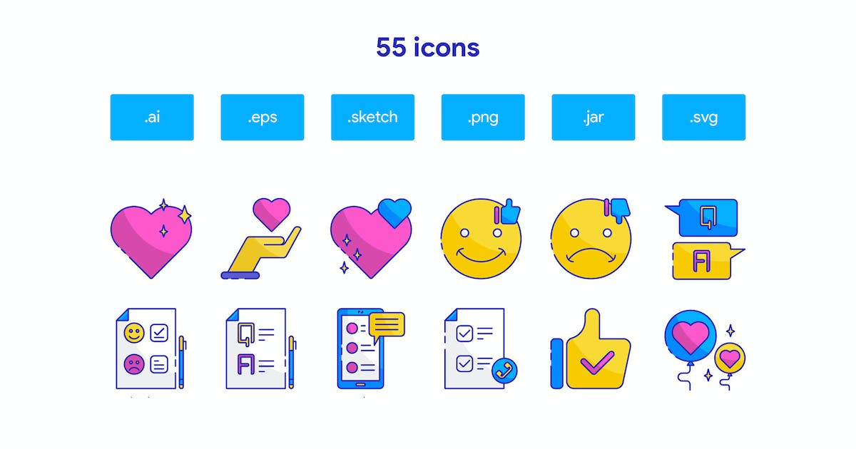 Download Customer Feedback Icon Set by TanahAirStudio