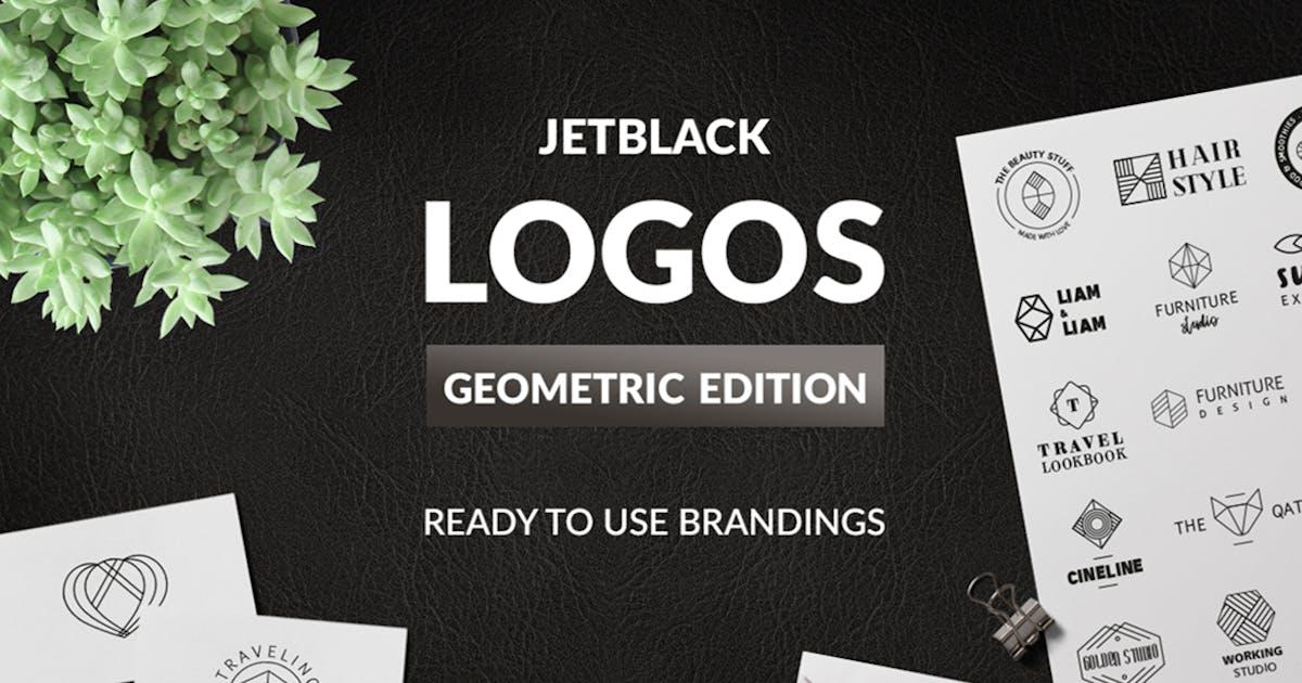 30 Premade Logos – Geometric Edition by AgataCreate