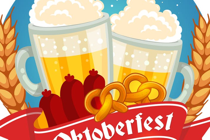 Thumbnail for Set of Oktoberfest posters