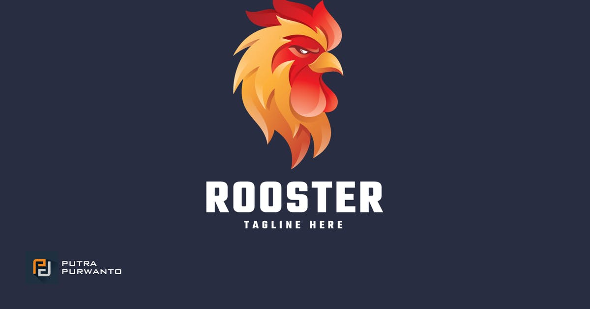 Download Rooster - Logo Template by putra_purwanto