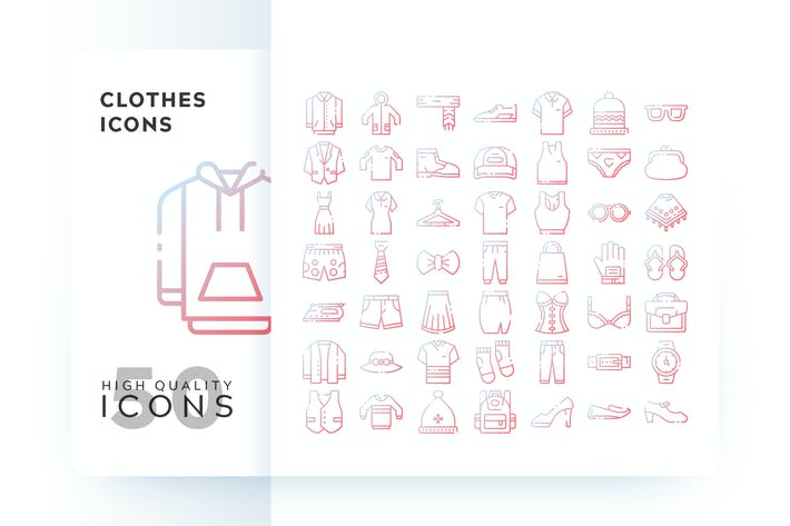 Thumbnail for CLOTHES OUTLINE GRADIENT