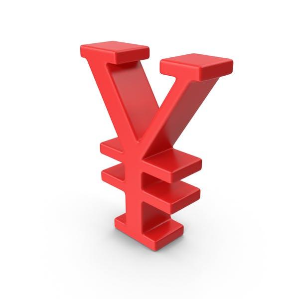Red Yuan Symbol