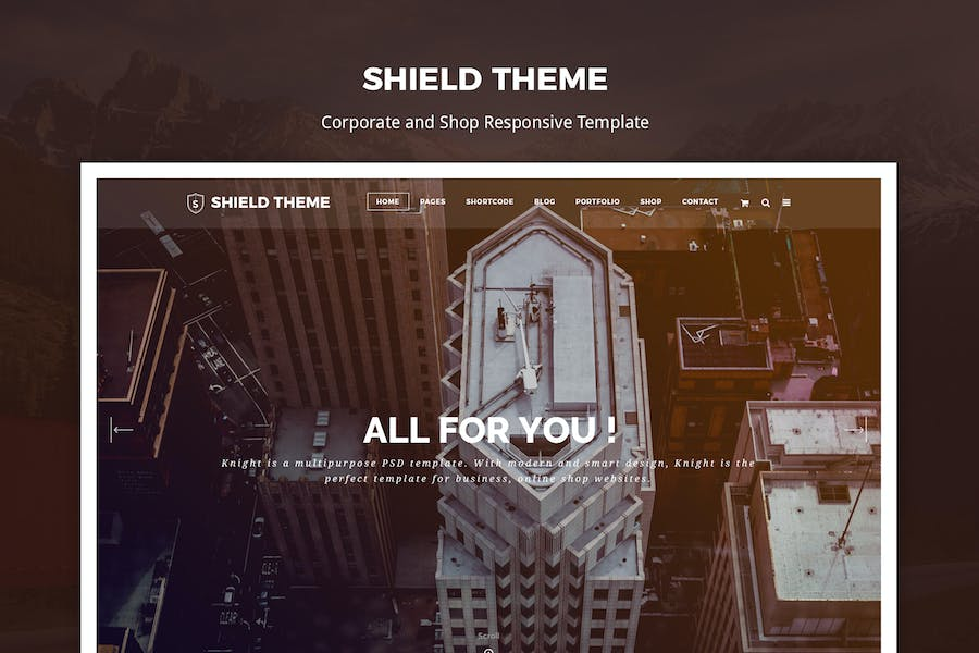 Shield - Corporate and Responsive HTML Template