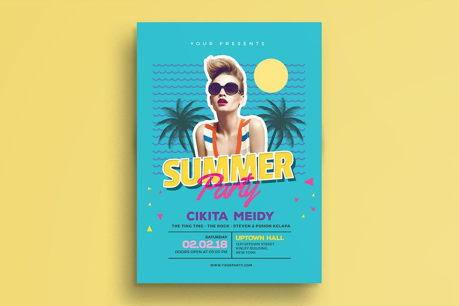 Summer 80s Party