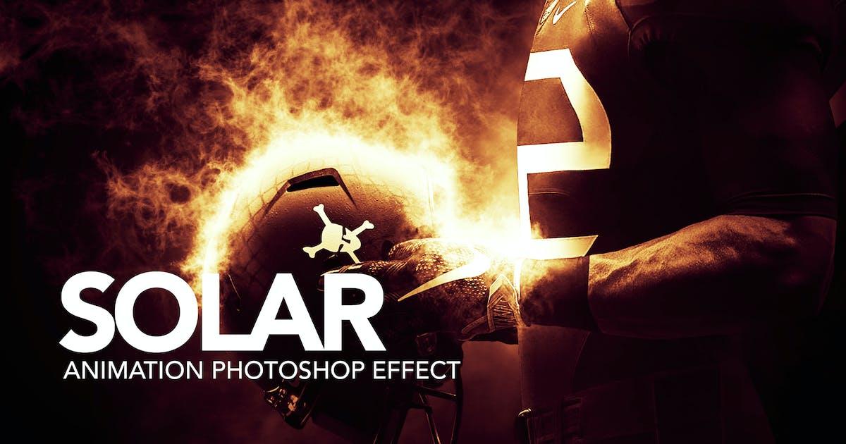 Solar Animation Photoshop Action by sreda