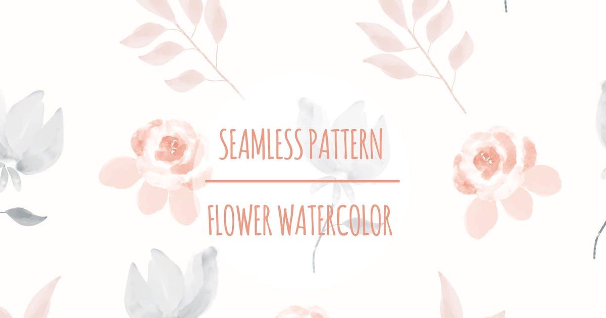 Download Flower Watercolor – Seamless Pattern by designesto
