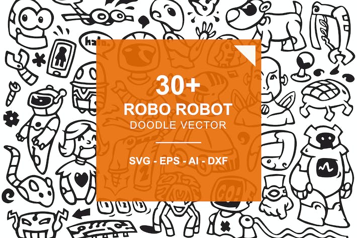 Thumbnail for Robo Robot Doodles