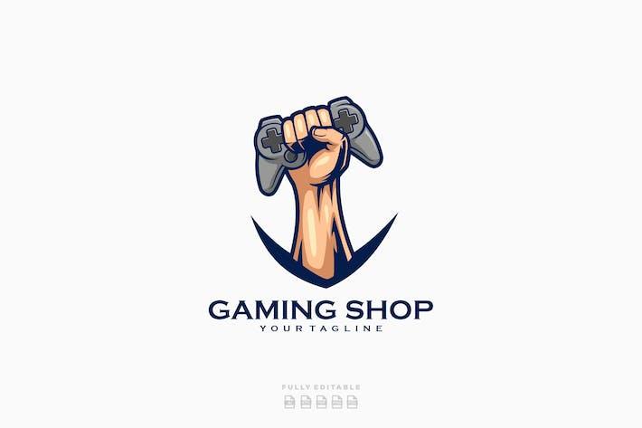 Thumbnail for Logo de la boutique de jeu manette