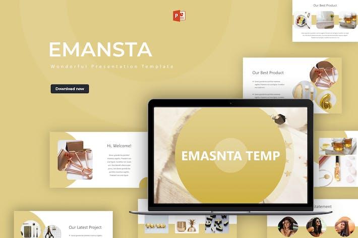 Thumbnail for Emansta - Шаблон Powerpoint