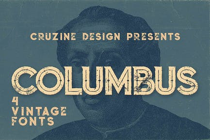 Polices de caractères Columbus