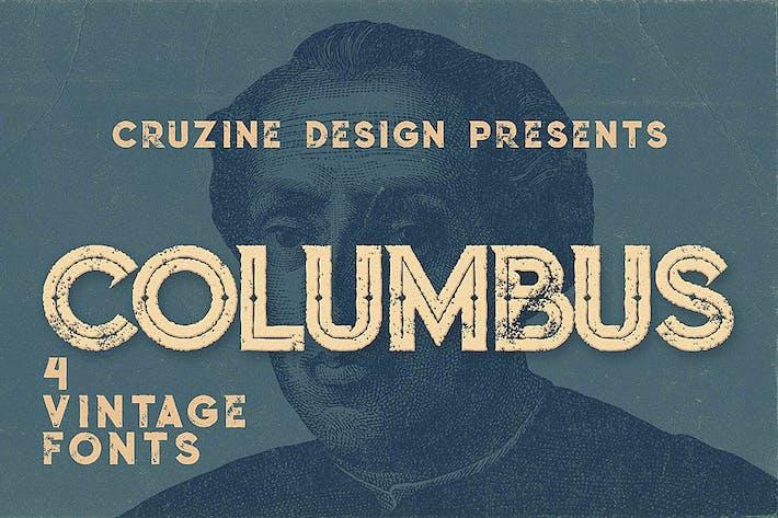 Thumbnail for Columbus Typeface