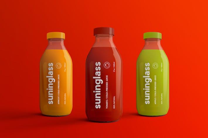 Thumbnail for Juice Bottle Packaging Mock-Ups Vol.2