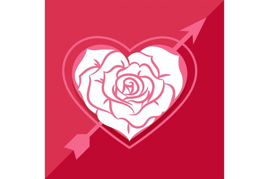 Love Rose Frame