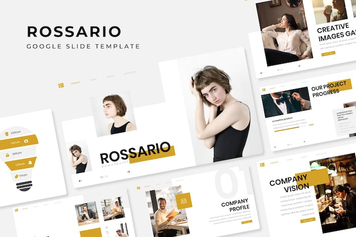 Thumbnail for Rossario - Google Slide Template