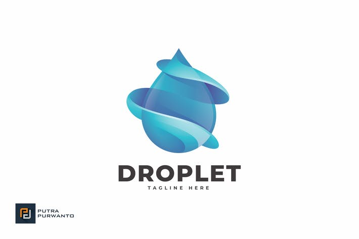 Thumbnail for Droplet - Logo Template