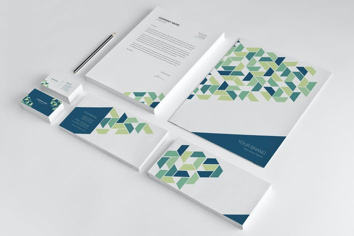 Thumbnail for Stationery Corporate Identity 002