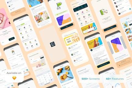 Gepay - Digitales mobiles UI-Kit