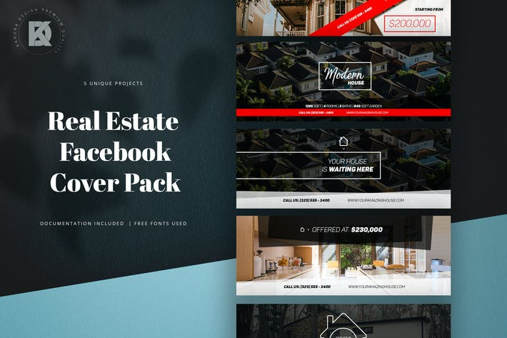 Thumbnail for Facebook Real Estate Banners