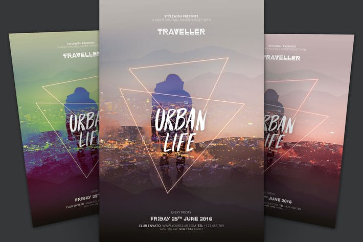 Thumbnail for Urban Life Flyer