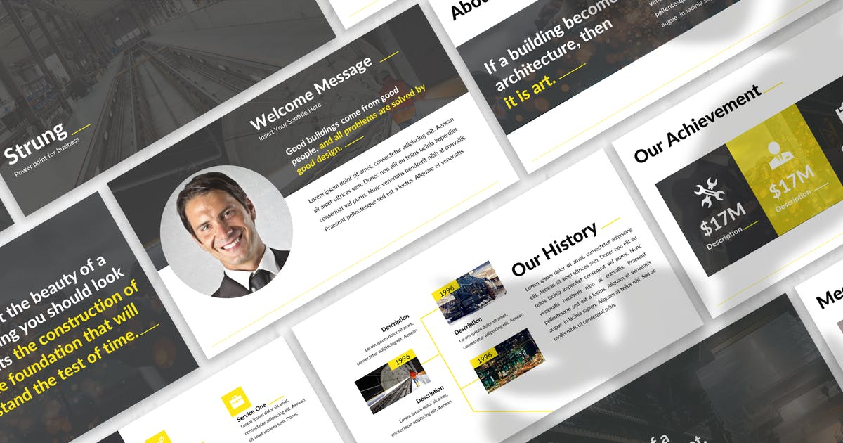 Download Strung - Business Keynote Template by 83des