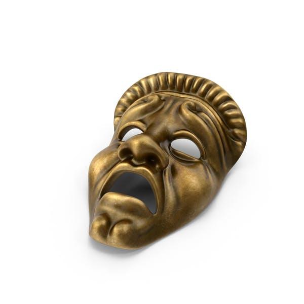 Tragedy Theatre Mask