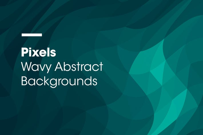 Thumbnail for Pixels | Wavy Abstract Backgrounds