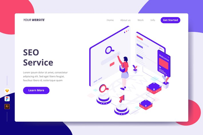 Thumbnail for SEO Service - Landing Page