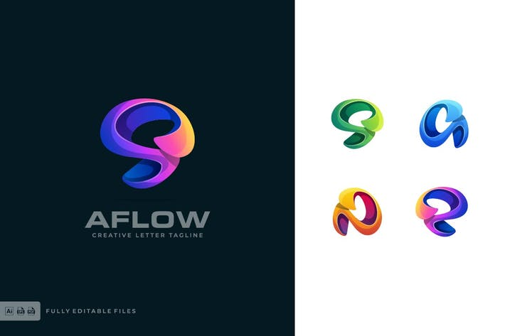 Abstract Color Logo Template