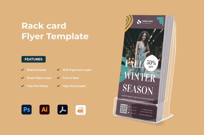 Thumbnail for dépliant Rack Card
