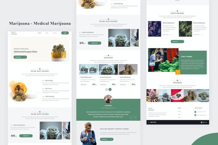 Thumbnail for Marijuana - Medical Marijuana Email Newsletter