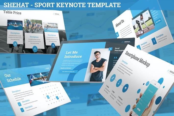 Thumbnail for Shehat - Sport Keynote Template