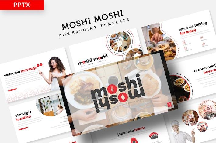 Moshi Moshi - Powerpoint Template