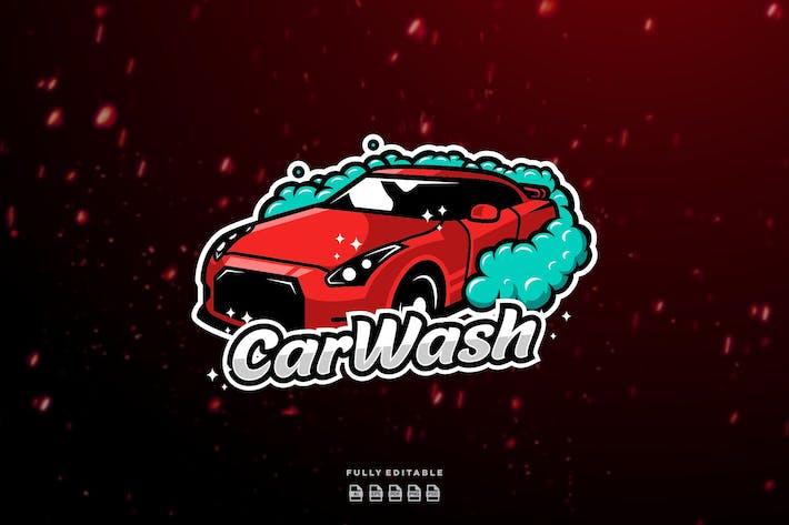 Thumbnail for Voiture de lavage de voiture rouge