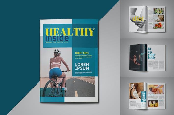 Healthy Magazine Template