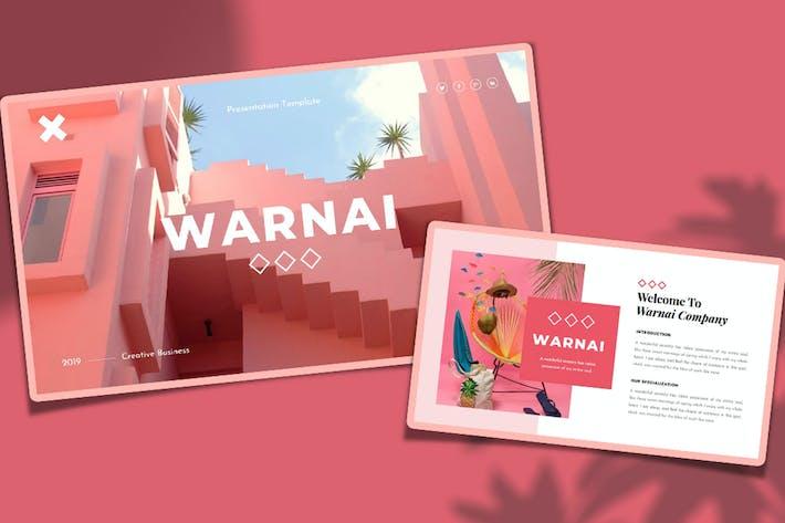 Thumbnail for Варнай — Творческий бизнес PowerPoint Шаблон
