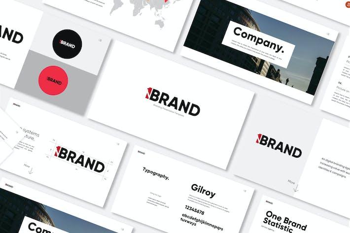 Один бренд - Google слайды