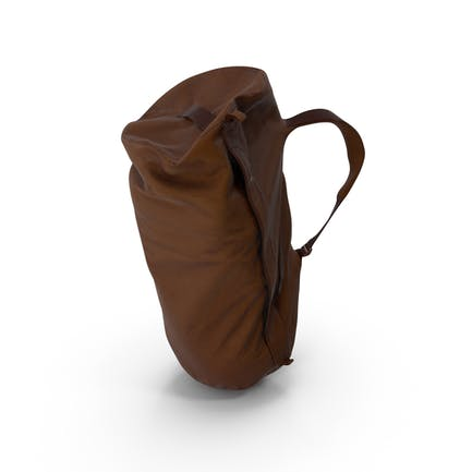 Camping Backpack Large Brown