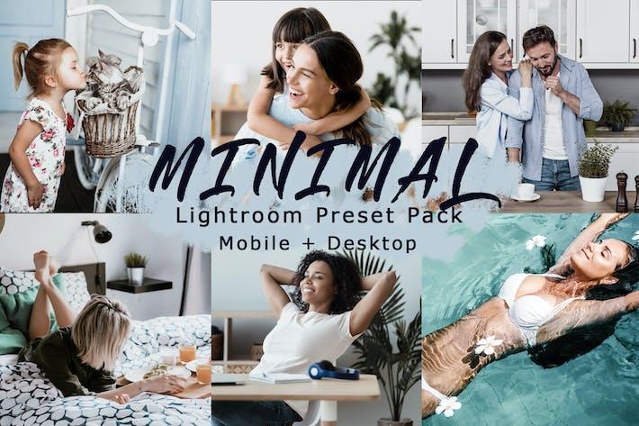 Thumbnail for Tonos mínimos | Ajustes Ajustes preestablecidos de Lightroom móvil+escritorio