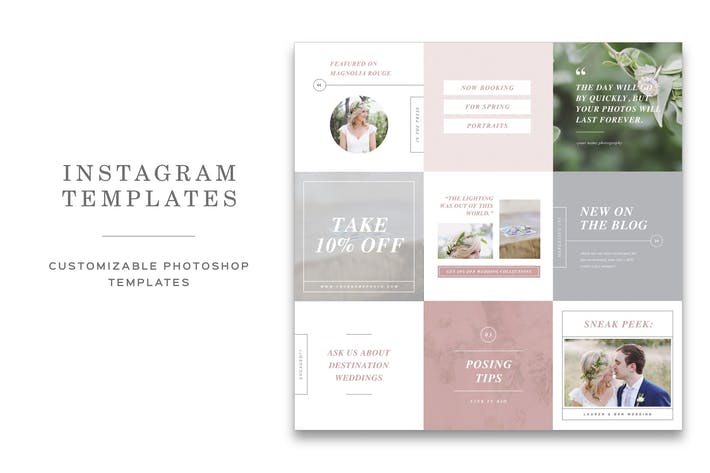 Thumbnail for Instagram Templates for Photographers