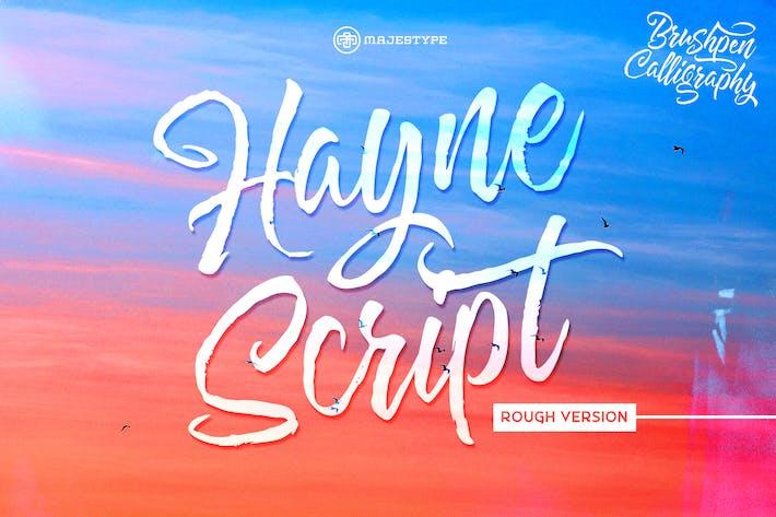 Thumbnail for Hayne Script Rough