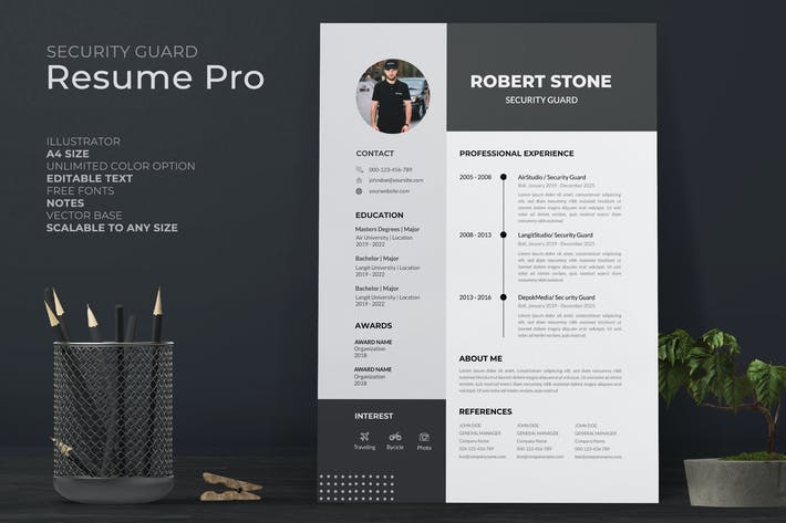Security Guard Resume Pro