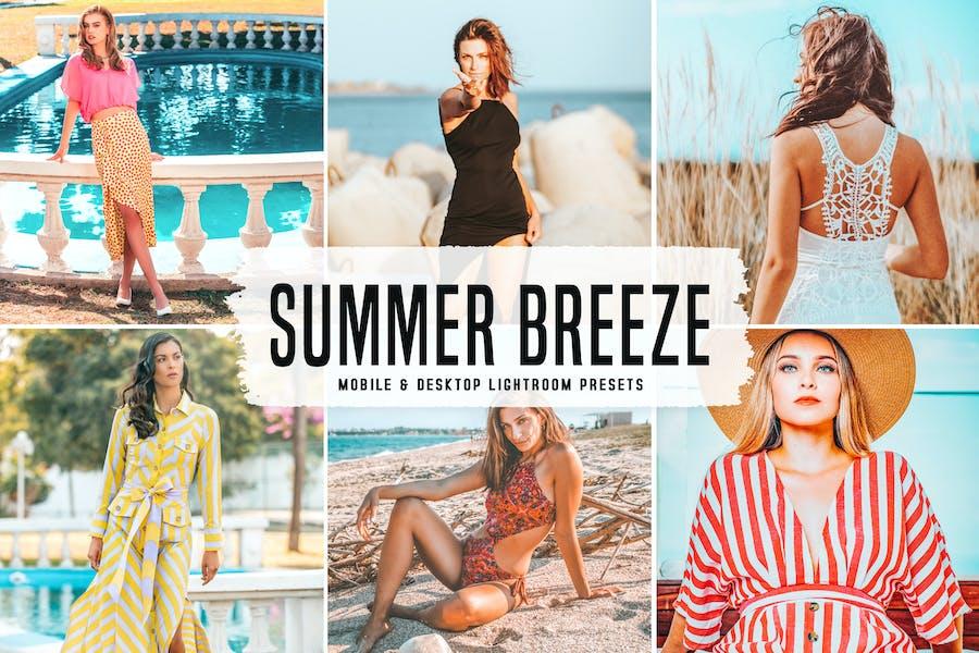 Summer Breeze Mobile & Desktop Lightroom Presets