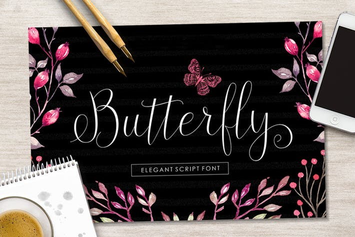 Thumbnail for Butterfly Script