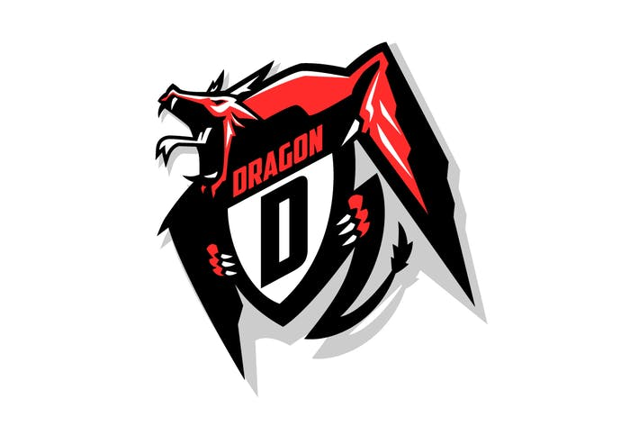 Thumbnail for Dragon Esports Logo