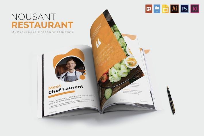 Thumbnail for Nousant Restaurant | Brochrue Template
