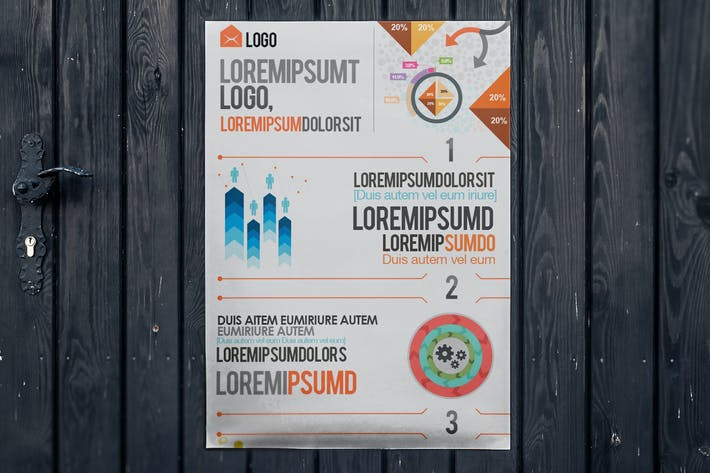 Stylish Infographics Template