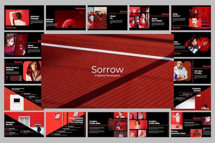 Thumbnail for Sorrow Creative Google Slide