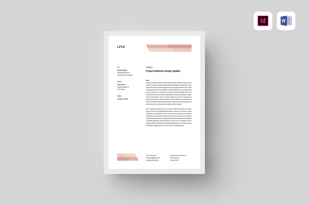 Letterhead - product preview 3